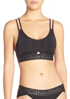 Calvin Klein 'Iron Strength' Bralette