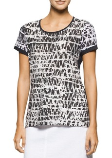 CALVIN KLEIN JEANS Abstract Sunset T-Shirt