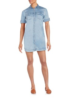 Calvin Klein Jeans Chambray Shirtdress