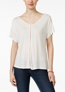 Calvin Klein Jeans V-Neck Short-Sleeve Top