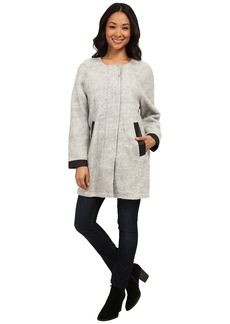 Calvin Klein Jeans Woolly Cocoon Jacket with Perf Trim