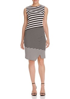 Calvin Klein Mixed Stripe Dress