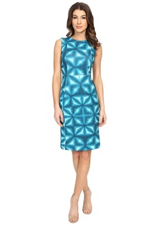 Calvin Klein Patterned Sheath Dress CD6M2A00