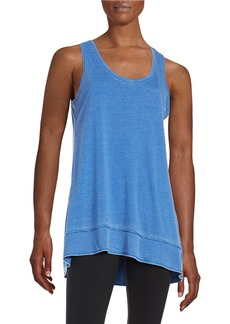 CALVIN KLEIN PERFORMANCE Cotton-Blend Tank Top