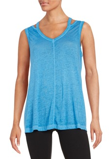 CALVIN KLEIN PERFORMANCE Cutout Tank Top