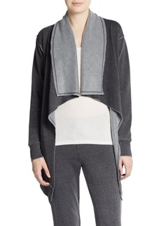 Calvin Klein Performance Draped Dropped Shoulder Performance Cardigan