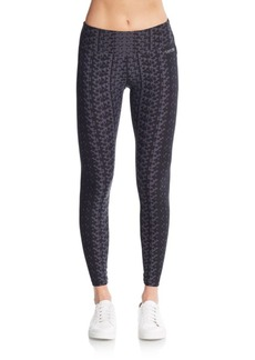Calvin Klein Performance Geo-Print Leggings
