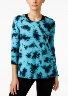 Calvin Klein Performance Gramercy Tie-Dyed Top