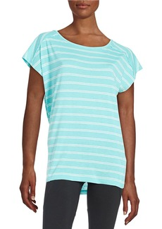 CALVIN KLEIN PERFORMANCE Keyhole Back Active Tee