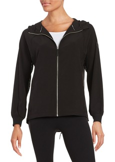 CALVIN KLEIN PERFORMANCE Mesh-Accented Hoodie