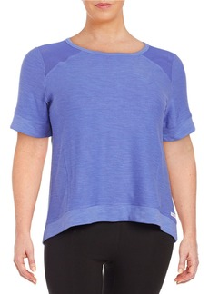 CALVIN KLEIN PERFORMANCE PLUS Mesh Shoulder Tee