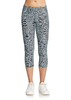 Calvin Klein Performance Printed Ruched Performance Leggings