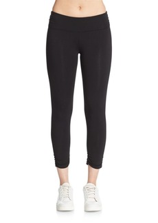 Calvin Klein Performance Ruched Cropped Leggings