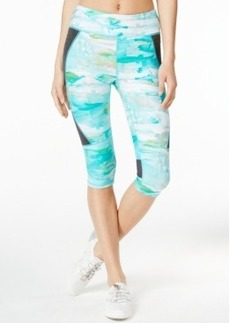 Calvin Klein Performance Sun Salutation Printed Capri Leggings