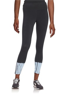 CALVIN KLEIN PERFORMANCE Tie-Dye Accented Leggings