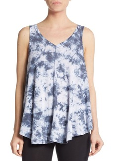 Calvin Klein Performance Tie-Dye V-Neck Tank Top