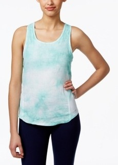 Calvin Klein Performance Tie-Dyed Twist-Back Tank Top