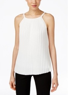 Calvin Klein Pleated Sweater Shell