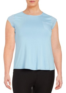 CALVIN KLEIN PLUS Plus Capped Sleeved Tee