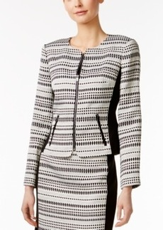 Calvin Klein Printed Side-Panel Blazer