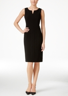 Calvin Klein Seamed Sleeveless Sheath Dress