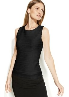 Calvin Klein Sleeveless Ribbed Textured Top