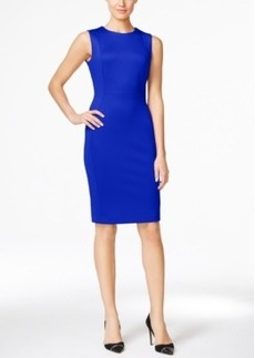 Calvin Klein Scuba Sheath Dress