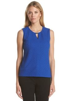 Calvin Klein Textured Shell Top