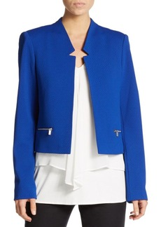Calvin Klein Textured Zip-Trim Jacket
