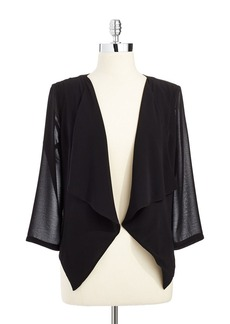CALVIN KLEIN Three Quarter Sleeved Shrug