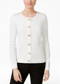 Calvin Klein Toggle Hardware Cardigan