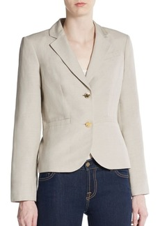 Calvin Klein Two-Button Suit Jacket