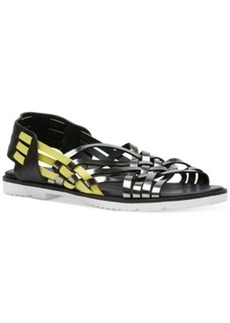 Calvin Klein Women's Mariana Strappy Flat Sandals Women's Shoes