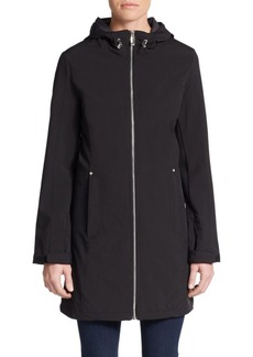 Calvin Klein Zip Front Hooded Jacket