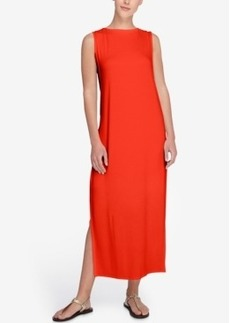 Catherine Catherine Malandrino Dot Sleeveless Maxi Dress