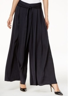 Catherine Catherine Malandrino Louie Belted Wide-Leg Pants
