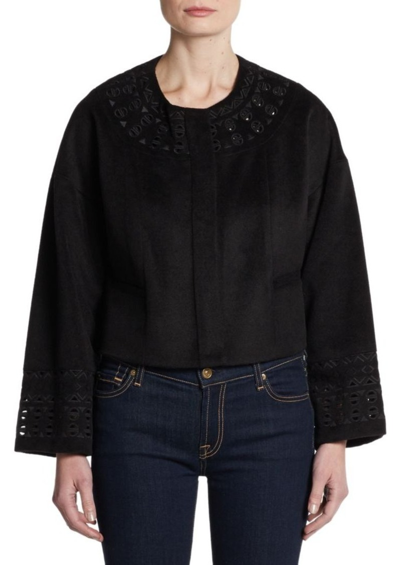 Catherine Malandrino Alfonsa Embroidered Jacket