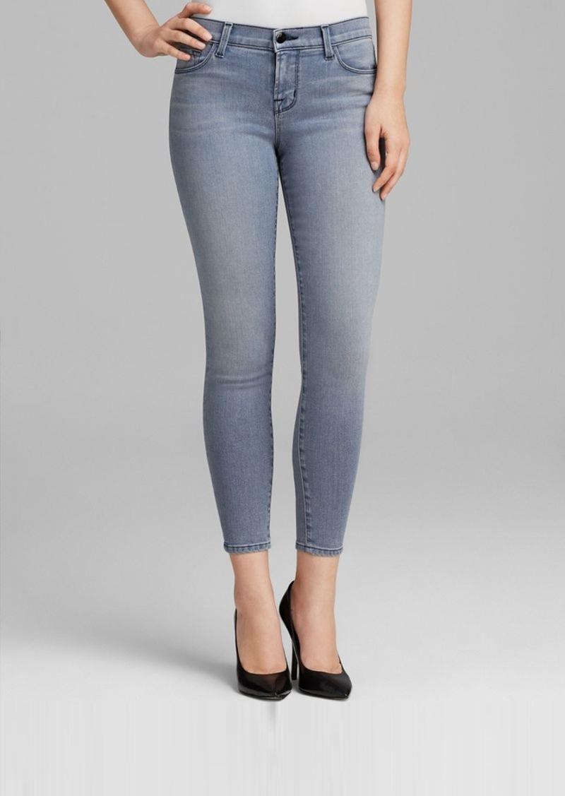 J Brand Jeans - 835 Close Cut Mid Rise Crop in Strobe