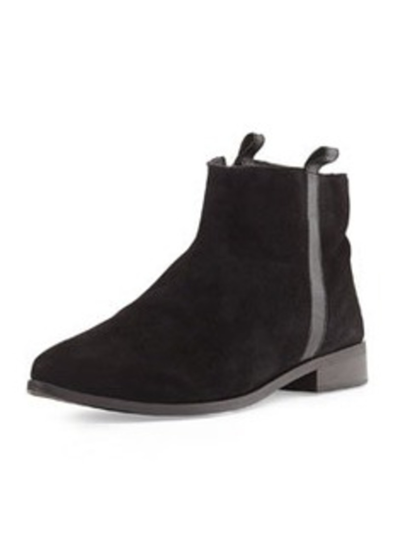 Charles David Bernt Suede Ankle Boot, Black