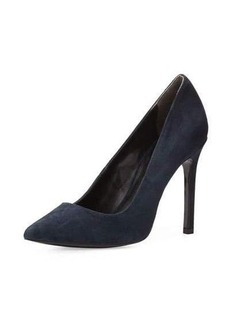 Charles David Caterina Suede Point-Toe Pump