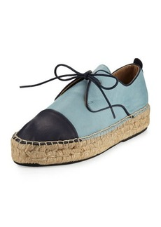 Charles David Harper Leather Espadrille Sneaker