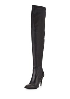 Charles David Katerina High-Heel Leather Boot