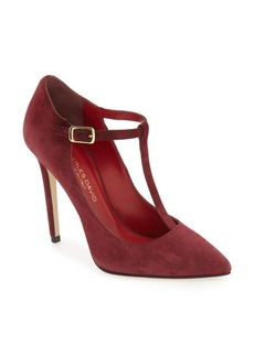 Charles David 'Lara' T-Strap Pointy Toe Pump (Women)