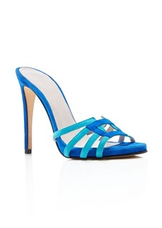 Charles David Mari High Heel Slide Sandals