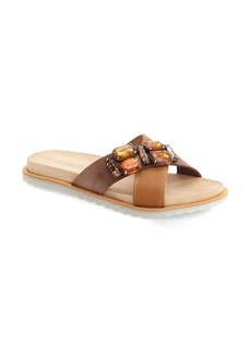 Charles David 'Pella' Crystal Embellished Slide Sandal (Women)