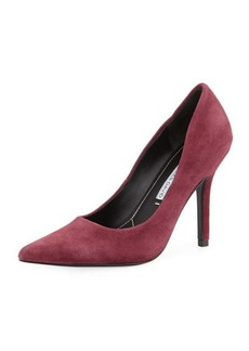 Charles David Sway II Suede Pointed-Toe Pump