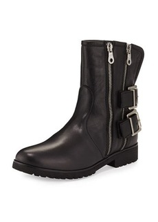 Charles David Val Leather Mid-Calf Bootie