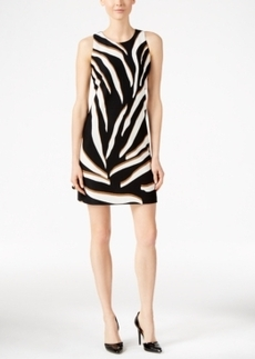 Charter Club Animal-Print Shift Dress, Only at Macy's
