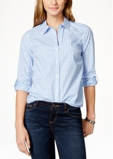 Charter Club Gingham Shirt, Only at Macy's