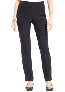 Charter Club Cambridge Tummy-Control Slim-Leg Pants, Only at Macy's